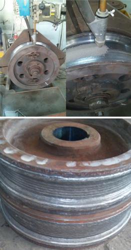 Automatsko navarivanje kola dizalice EPP-om