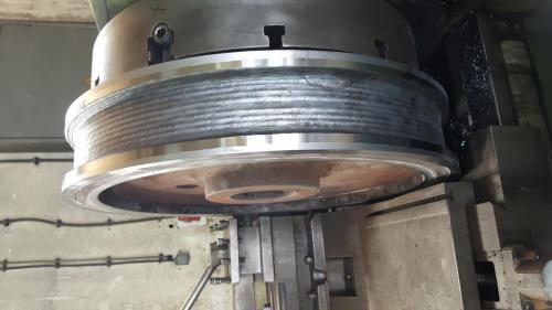 Strojna obrada kola dizalice