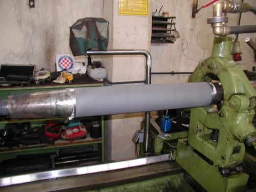 Metalizacija propelernog vratila (inox 316)