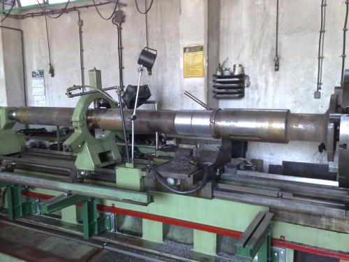 Metalizacije pogonskih vratila mlina cementa
