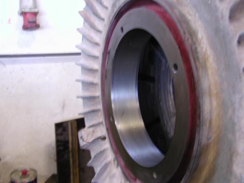 Metalizacija bočnog poklopca elektromotora