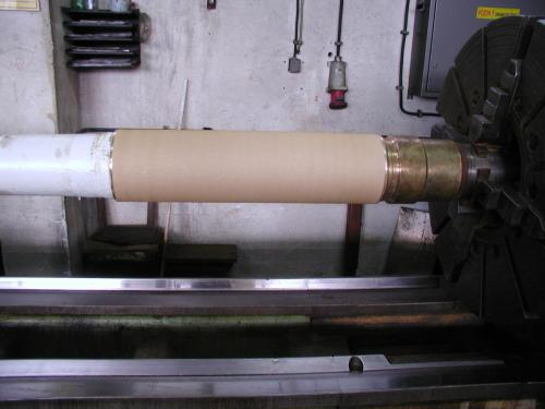 Metalizacija propelernog vratila aluminijskom broncom