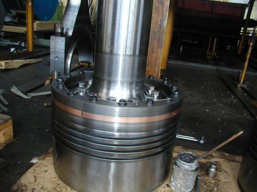 Metalizacija stapajice klipa dizel brodskog motora MAN